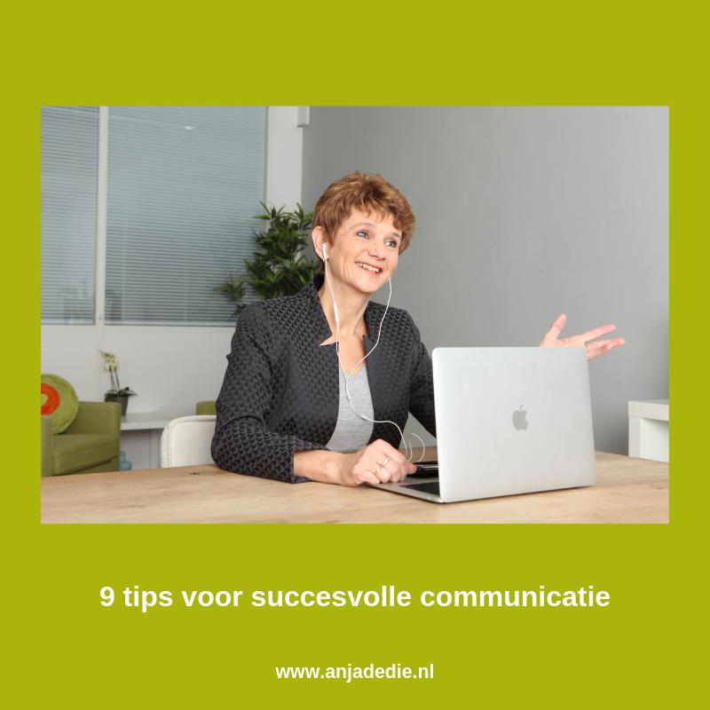 9 tips voor succesvolle communicatie