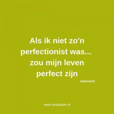 Omgaan met perfectionisme